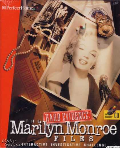 Windows 3.x Games - Hard Evidence: The Marilyn Monroe Files