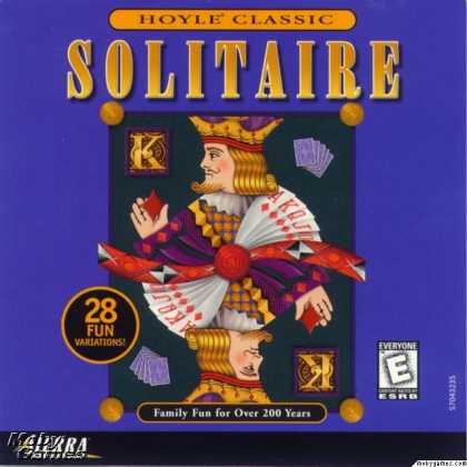 Windows 3.x Games - Hoyle Solitaire