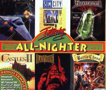 Windows 3.x Games - Interplay All-Nighter Anthology no. 2