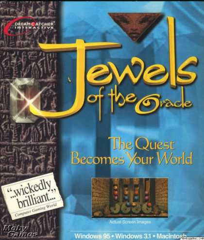 Windows 3.x Games - Jewels of the Oracle