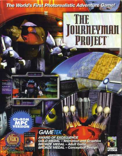 Windows 3.x Games - The Journeyman Project