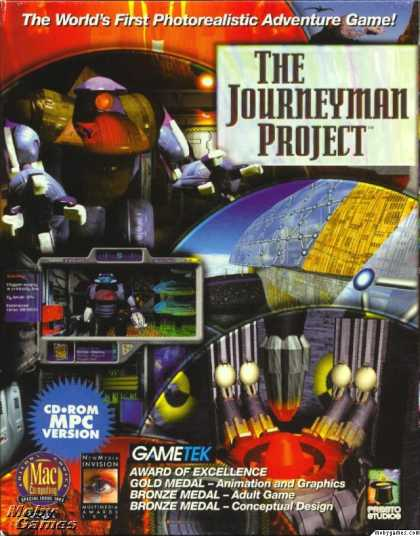 Windows 3.x Games - The Journeyman Project: Turbo!