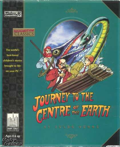 Windows 3.x Games - Journey to the Centre of the Earth