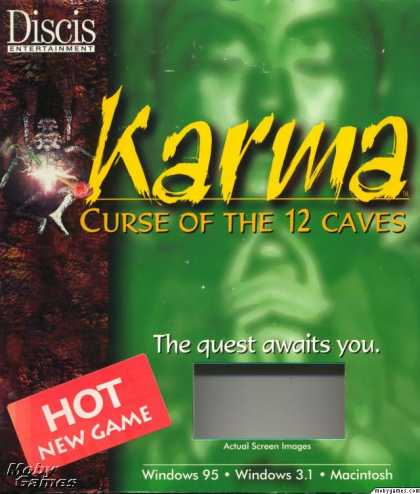 Windows 3.x Games - Karma: Curse of the 12 Caves