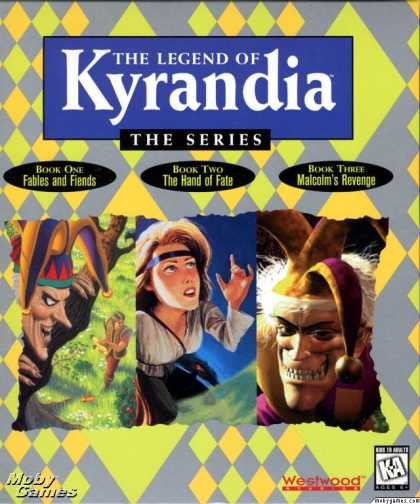 Windows 3.x Games - The Legend of Kyrandia: The Series