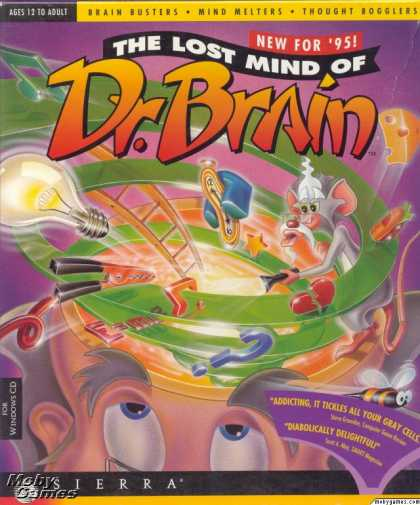 Windows 3.x Games - The Lost Mind of Dr. Brain