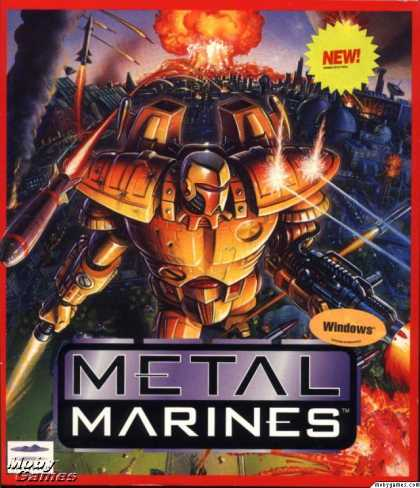 Windows 3.x Games - Metal Marines