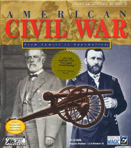 Windows 3.x Games - American Civil War: From Sumter to Appomattox