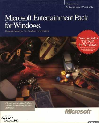 Windows 3.x Games - Microsoft Entertainment Pack for Windows