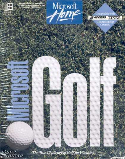 Windows 3.x Games - Microsoft Golf