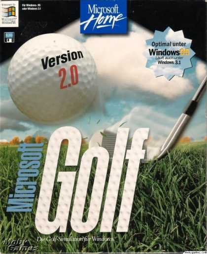 Windows 3.x Games - Microsoft Golf 2.0