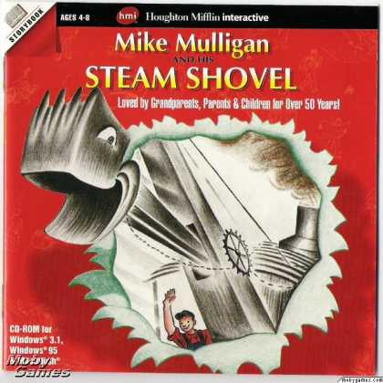 Windows 3.x Games - Mike Mulligan and His Steam Shovel