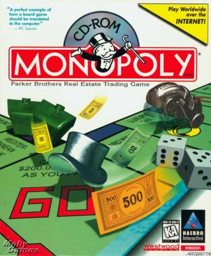 Windows 3.x Games - Monopoly