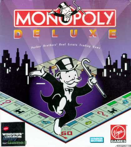 Windows 3.x Games - Monopoly Deluxe