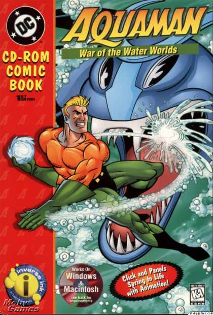 Windows 3.x Games - Aquaman: War of the Water Worlds