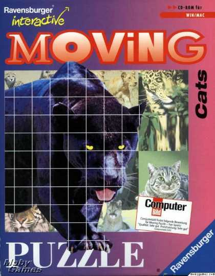 Windows 3.x Games - Moving Puzzle: Cats