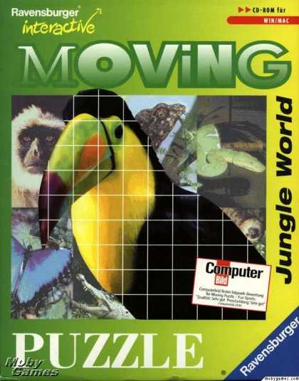 Windows 3.x Games - Moving Puzzle: Jungle World
