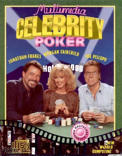 Windows 3.x Games - Multimedia Celebrity Poker