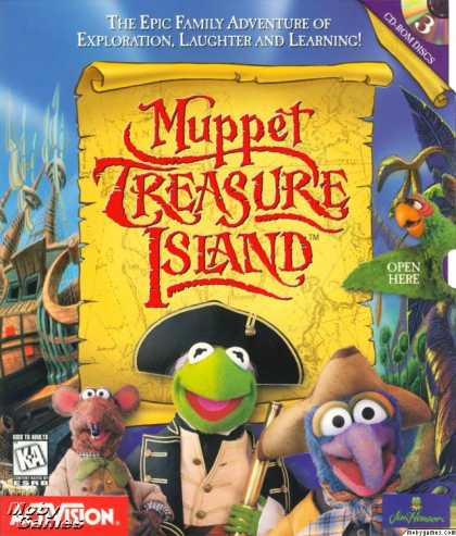 Windows 3.x Games - Muppet Treasure Island