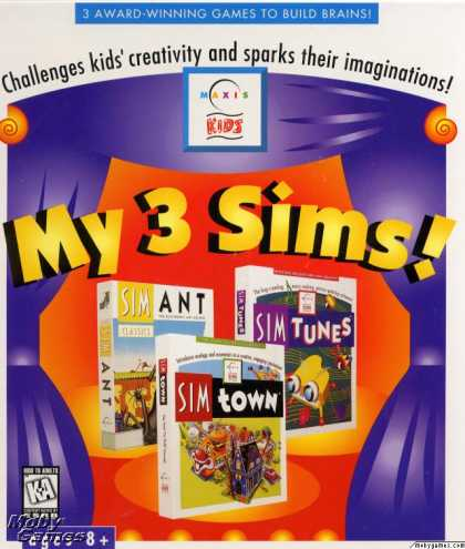 Windows 3.x Games - My 3 Sims!