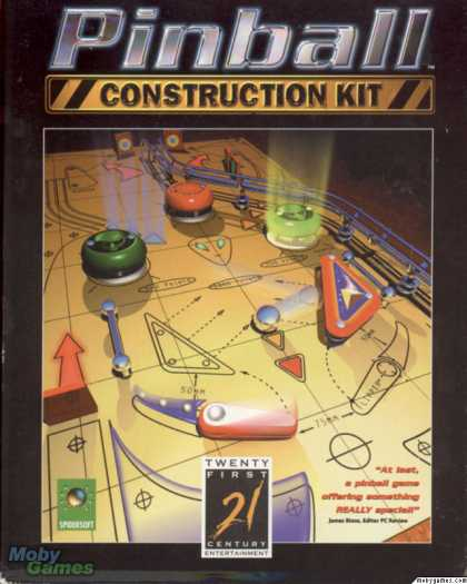 Windows 3.x Games - Pinball Builder: A Construction Kit for Windows