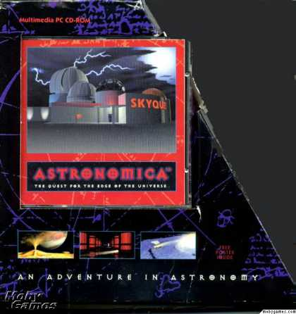 Windows 3.x Games - Astronomica: The Quest for the Edge of the Universe