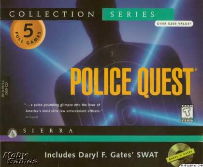 Windows 3.x Games - Police Quest: Collection Series