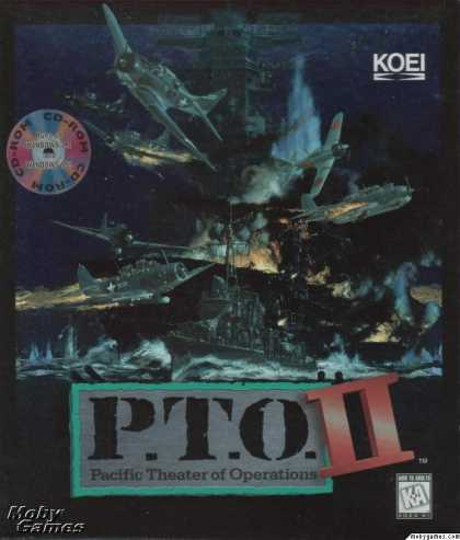 Windows 3.x Games - P.T.O.: Pacific Theater of Operations II