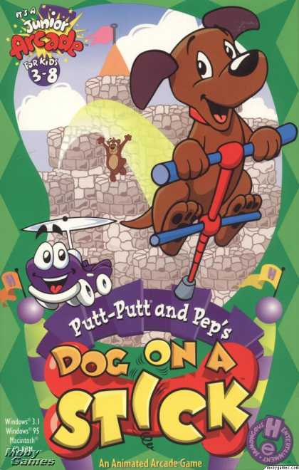 Windows 3.x Games - Putt-Putt and Pep's Dog on a Stick