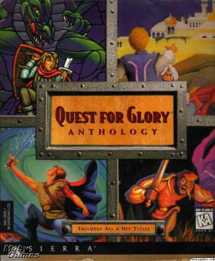 Windows 3.x Games - Quest for Glory Anthology