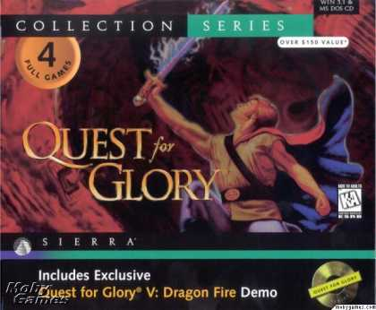 Windows 3.x Games - Quest for Glory: Collection Series