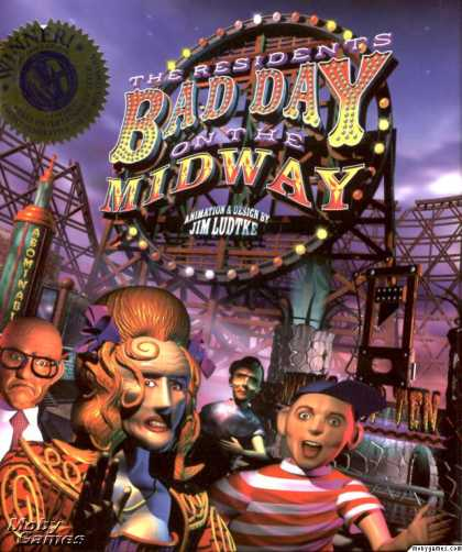 Windows 3.x Games - The Residents: Bad Day on the Midway