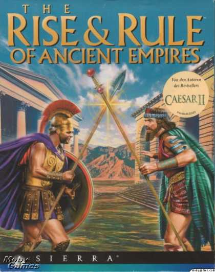 Windows 3.x Games - The Rise & Rule of Ancient Empires