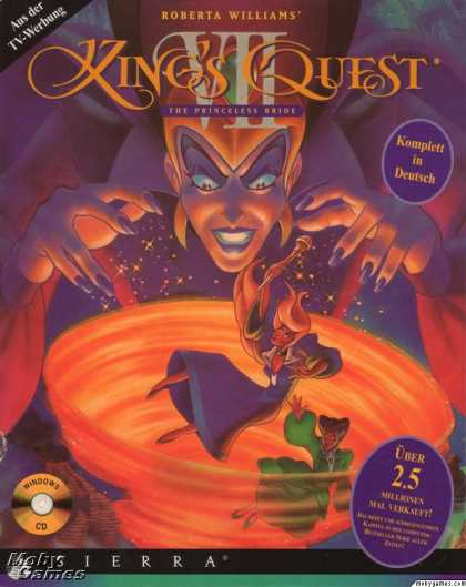 Windows 3.x Games - Roberta Williams' King's Quest VII: The Princeless Bride