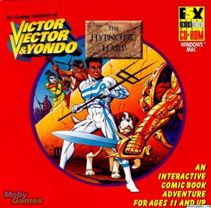 Windows 3.x Games - The Awesome Adventures of Victor Vector & Yondo: The Hypnotic Harp