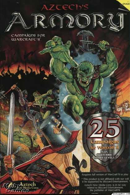 Windows 3.x Games - Aztech's Armory: Campaigns for Warcraft II