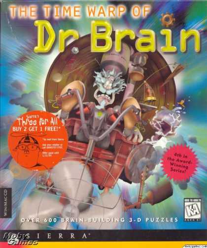 Windows 3.x Games - The Time Warp of Dr. Brain