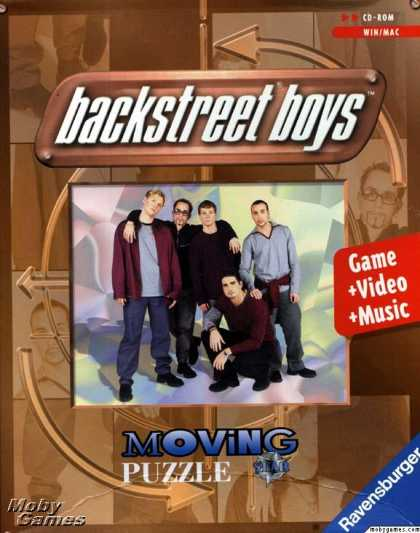 Windows 3.x Games - Backstreet Boys: Puzzles In Motion