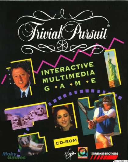 Windows 3.x Games - Trivial Pursuit Interactive Multimedia Game
