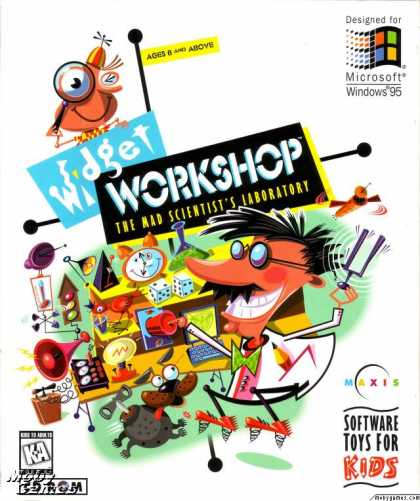 Windows 3.x Games - Widget Workshop: The Mad Scientist's Laboratory