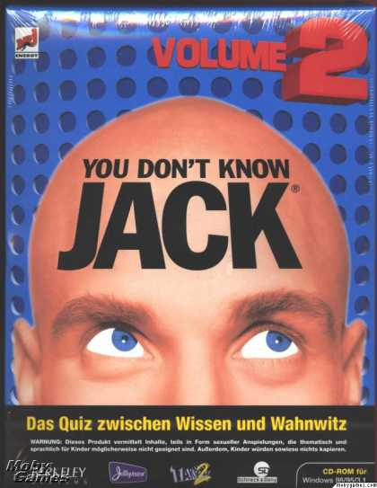 Windows 3.x Games - You Don't Know Jack: Volume 2