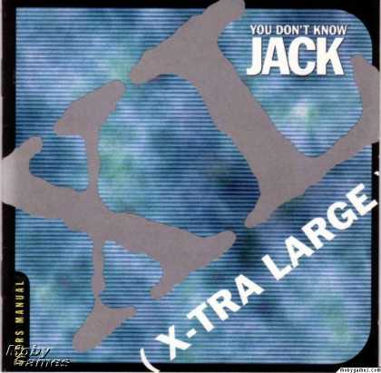 Windows 3.x Games - You Don't Know Jack XL (X-Tra Large)