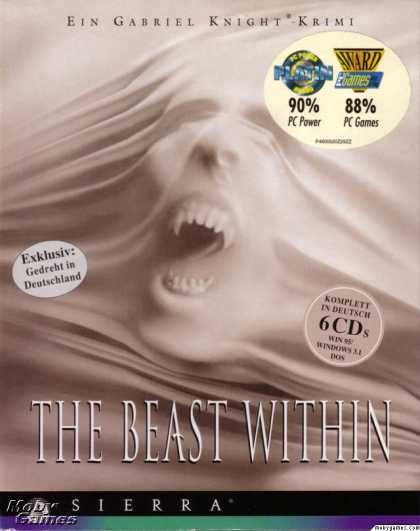 Windows 3.x Games - The Beast Within: A Gabriel Knight Mystery