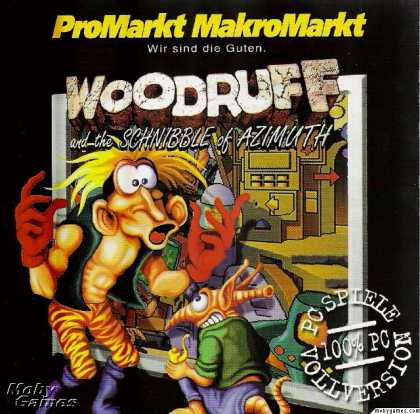 Windows 3.x Games - The Bizarre Adventures of Woodruff and the Schnibble