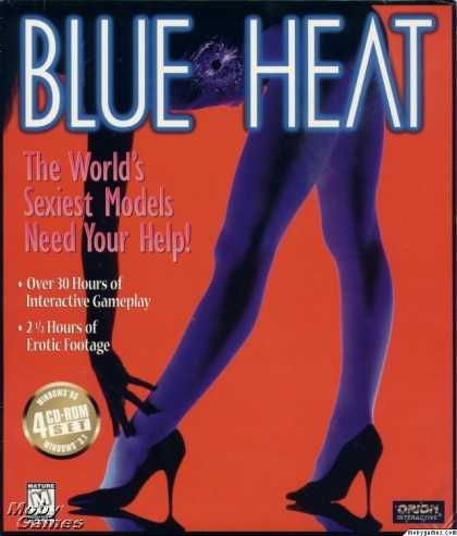 Windows 3.x Games - Blue Heat: The Case of the Cover Girl Murders