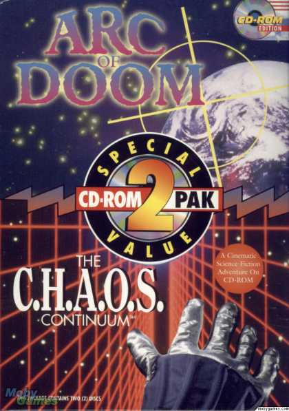 Windows 3.x Games - CD-ROM 2 Pack: Arc of Doom and the C.H.A.O.S. Continuum