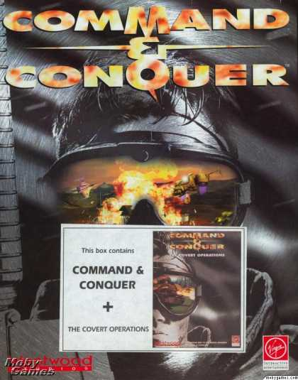 Windows 3.x Games - Command & Conquer + The Covert Operations