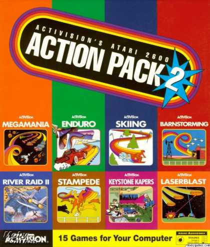 Windows 3.x Games - Activision's Atari 2600 Action Pack 2