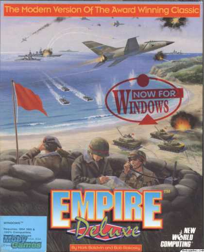 Windows 3.x Games - Empire Deluxe for Windows