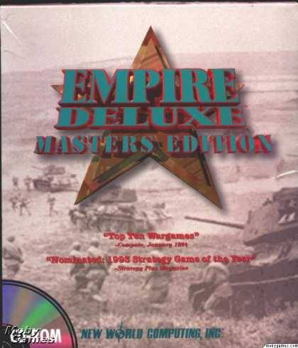 Windows 3.x Games - Empire Deluxe Masters Edition